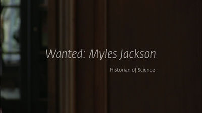 Wanted: Myles Jackson